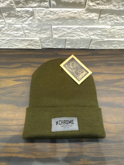 CHROME_KNIT CAP